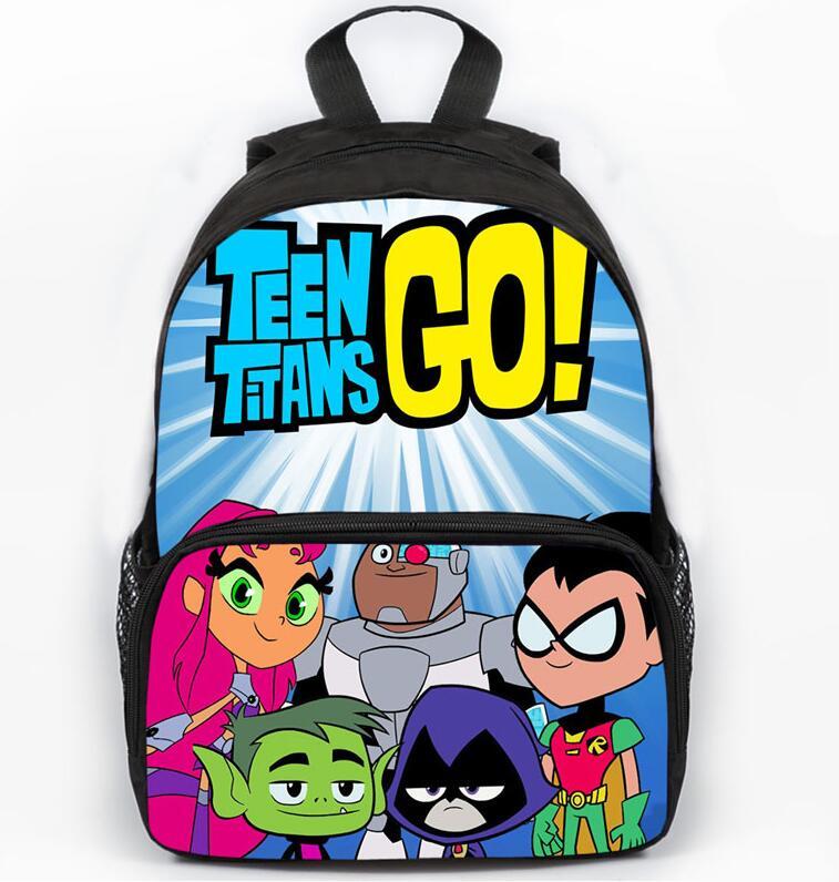 Cartoon Uncle Grandpa Backpacks Sonic Teen Titans Ninjago School Bags Kid Schoolbag For Boys Girls Mochila Escolar Book Bag 2018 Kids & Baby's Bags