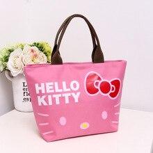 Новые милые водонепроницаемые украшения hello kitty, сумка для покупок, косметичка, органайзер, сумки для хранения