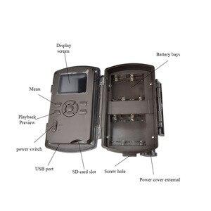 Image 5 - Bolyguard охотничья пробная камера 24 МП фотоловушка 100 футов камера для дикой природы 940 нм ночное видение черная ИК фотоловушка камера