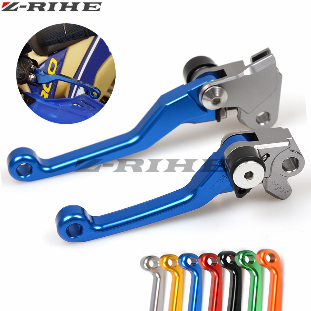 CNC Motocross Off Road Accessories Brake Clutch Levers Dirt Bike Lever for YAMAHA YZ80 YZ85 YZ125 YZ250 YZ250F YZ426F YZ450F for yamaha yz80 yz85 kawasaki kdx200 kdx220 suzuki rm85 rm125 rm250 drz125l cnc dirttbike pivot brake clutch levers blue
