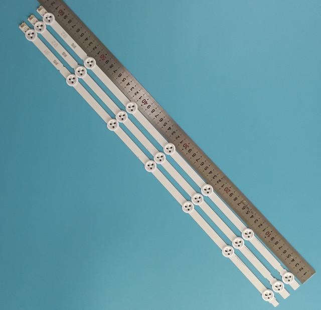 """3 قطعة/المجموعة 630 مللي متر 7 المصابيح جديد الأصلي 6916L 1437A 6916L 1438A ل LG TV 32 """"V13 Rev B1 B2 نوع 32LN5400 32LN577S LED قطاع"""