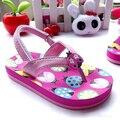La Mariquita Niños Niñas Sandalias Flip Flop Ocasional Playa Niños Zapatos de La Princesa Sandalias de Las Muchachas Niños de La Manera Calzan Zapatos de Las Niñas