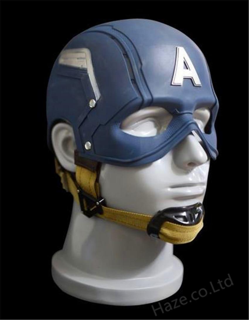 1 1 Captain America WEARABLE Helmet Replica Brand New