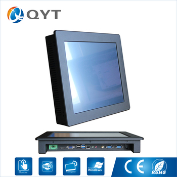 "15 inch Industrial Fanless Panel PC, Core i3 CPU/4GB RAM/32G SSD,2COM/4USB, 15"" rugged industrial tablet"