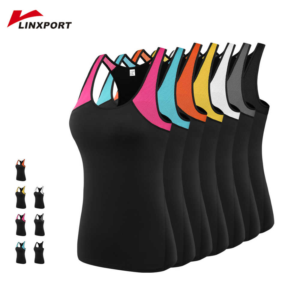 Women Yoga Vest Gym Sports Tops Fitness Running Vest Sleeveless Shirts Quick Dry Training Sportswear Workout Tights Tank Tops