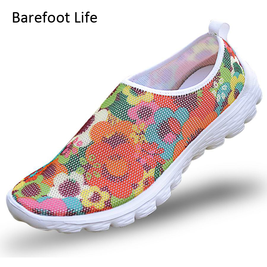 summer season casual shoes woman 2018,use 3D print Air mesh breathable comfortable shoes,zapatos,schuhes,fashion sneakers woman,