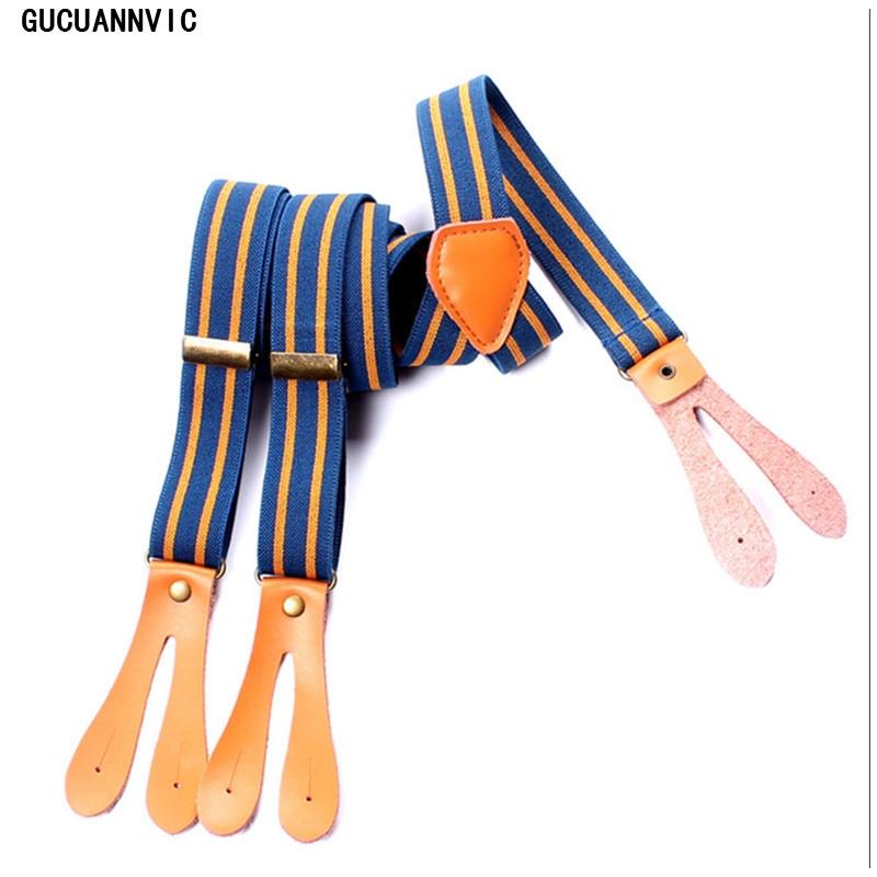 Nova inglaterra suspensórios Vintage bretels dames moda botões roupas suspensórios recessionista para homens chaves womensuspensorio
