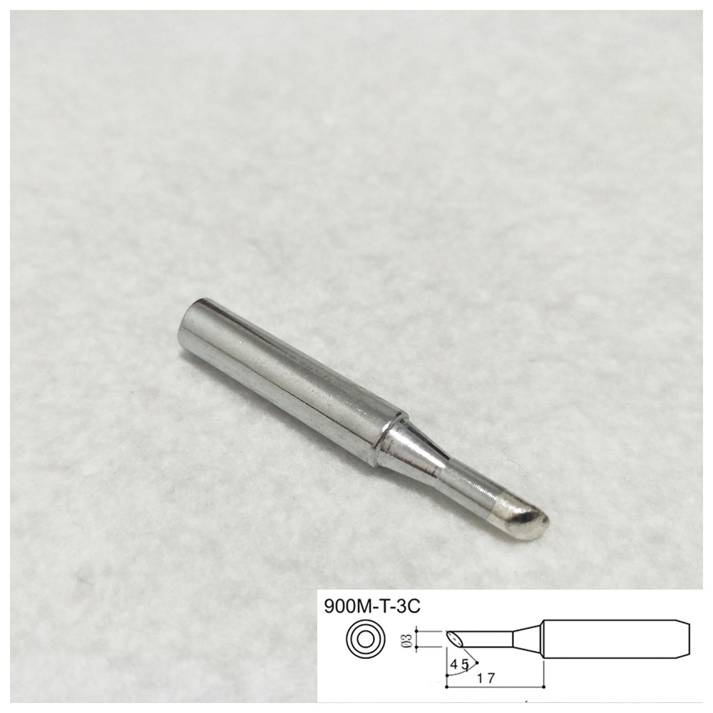 1pcs Solder Iron Tip 900M-T-3C For Hakko Soldering Rework Station Tool