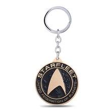 MS Star Trek Keychain Bouclier Clé Anneaux Chaude Film Cadeau porte-clés Bijoux Porte-clés pour la Voiture