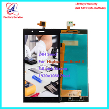 For Original Highscreen Boost 3 LCD Screen Display+Touch Screen Digitizer Sensor Assembly Replacement 5.0