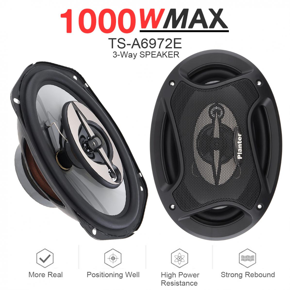6x9 Inch 1000W Universal Car Coaxial Auto Audio Music Stereo Full Range Frequency Hifi Speakers Non