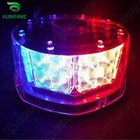 Round High Power LED Strobe Light Car Warning Flashlight LED Light Bar High Quality LED Light KF L3149