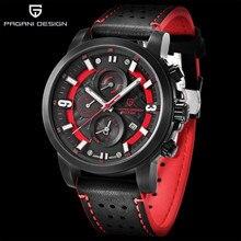 PAGANI Design 2018 Top Brand Luxury Water Resistant Quartz Watch Fashion Military Men Wrist Watch Countdown Clock Male Relogios