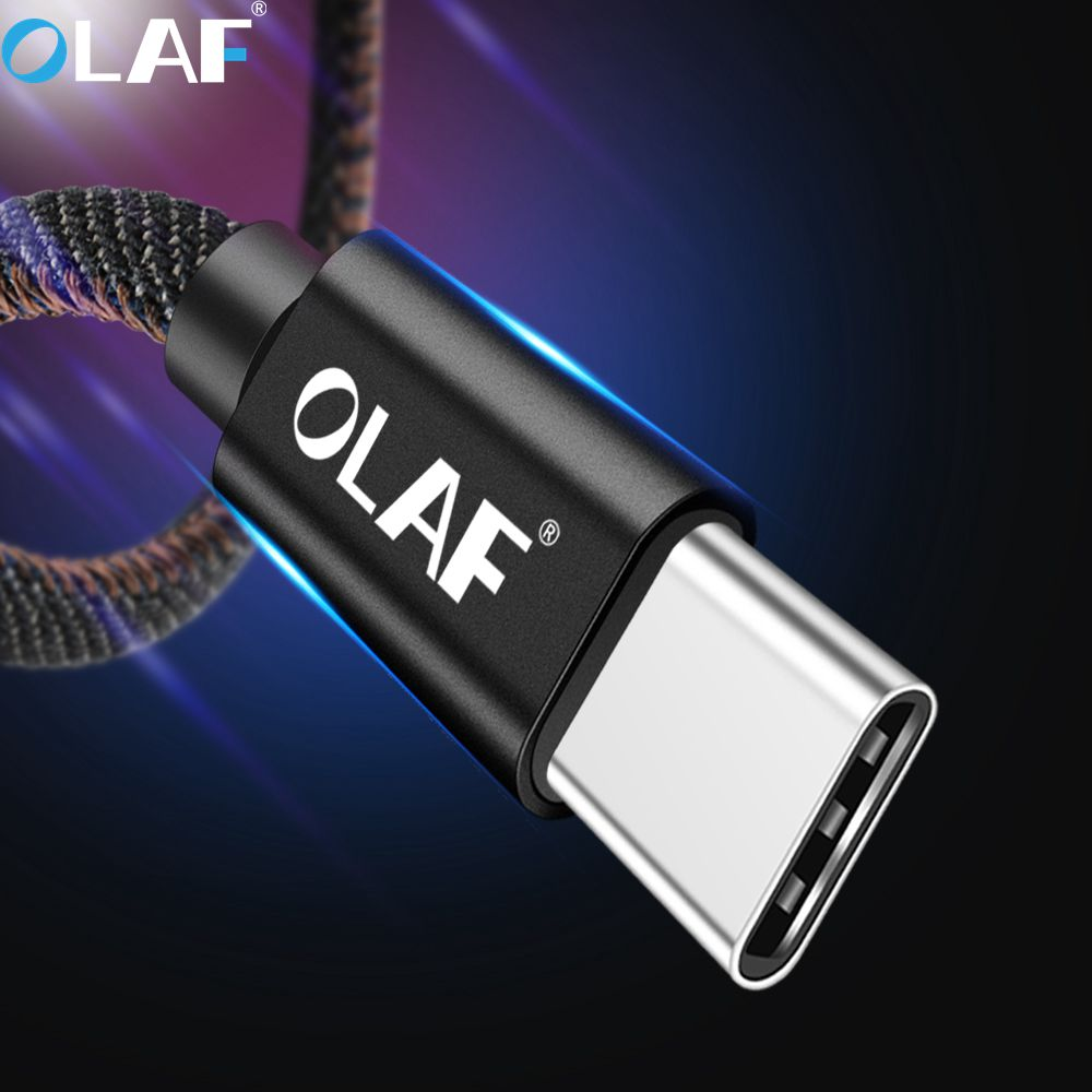 OLAF USB Type C Cable For xiaomi redmi Note 7 Note 6 USB-C Mobile Phone Fast Charging Micro USB Cable For Samsung Xiaomi Huawei image