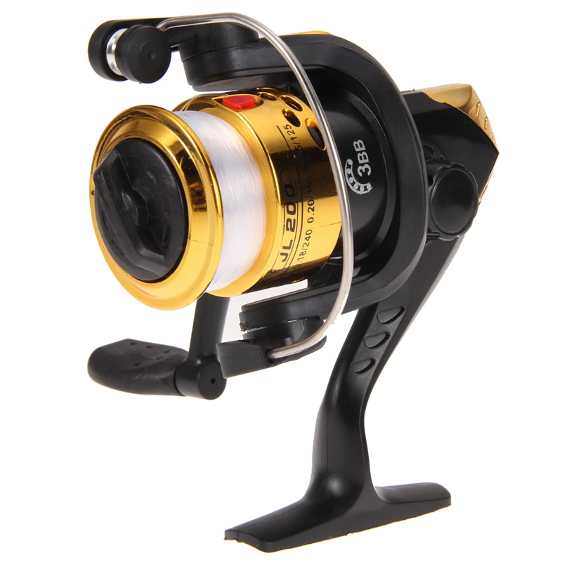 High Speed G-Ratio 5.2:1 Fishing Reels Aluminum Body Spinning Reel Rocker Arm Copper