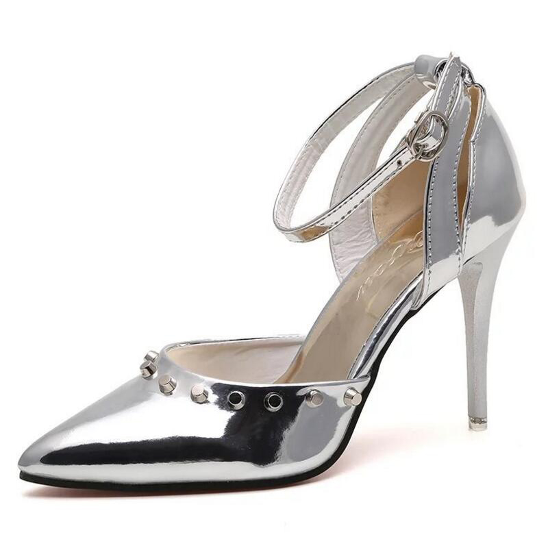 Online Get Cheap Silver Wedding Shoes for Women -Aliexpress.com ...