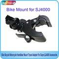Frete grátis!! bicicleta da bicicleta da motocicleta guiador monte tripé adaptador para câmera gopro, sj4000, xiaoyi gitup
