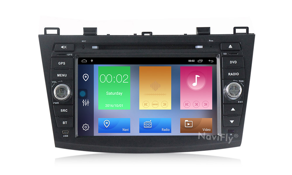 Excellent Android 9.1 Car Radio Multimedia for Mazda 3 Mazda 3 maxx Axela 2010-2013 2din car dvd gps navigation player headunit 9