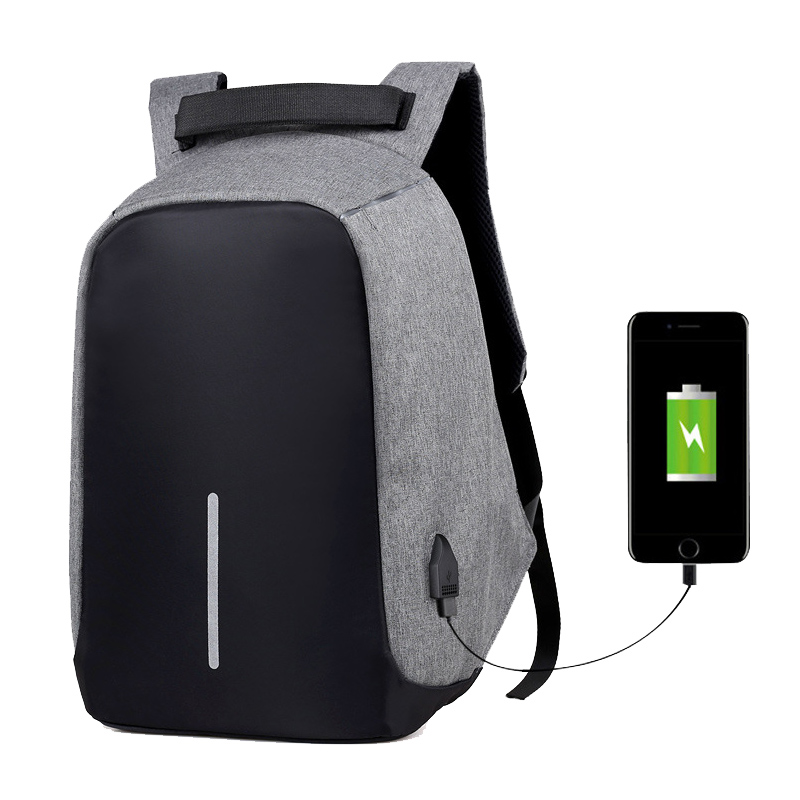 Anti Theft Backpack Men USB Charge 15inch Laptop Backpack Waterproof Fashion Male Mochila Travel Men's Backpack Women School Bag kingsons external charging usb function school backpack anti theft boy s girl s dayback women travel bag 15 6 inch 2017 new