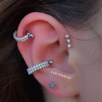 CABI Piercer Tragus Cartilage Ring Helix Body Jewelry 1