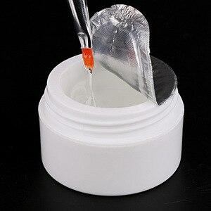 Image 5 - 1 Bottle 3 UV Builder Gel For Acrylic UV Gel Nail Art  UV Gel Pink /Clear/ White UV Gel Nailart f. French Nagel 15ml
