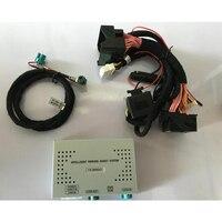 Автомобильный медиа решение обратная камера траектория видео интерфейс IPAS коробка для BMW НБТ система OEM монитор