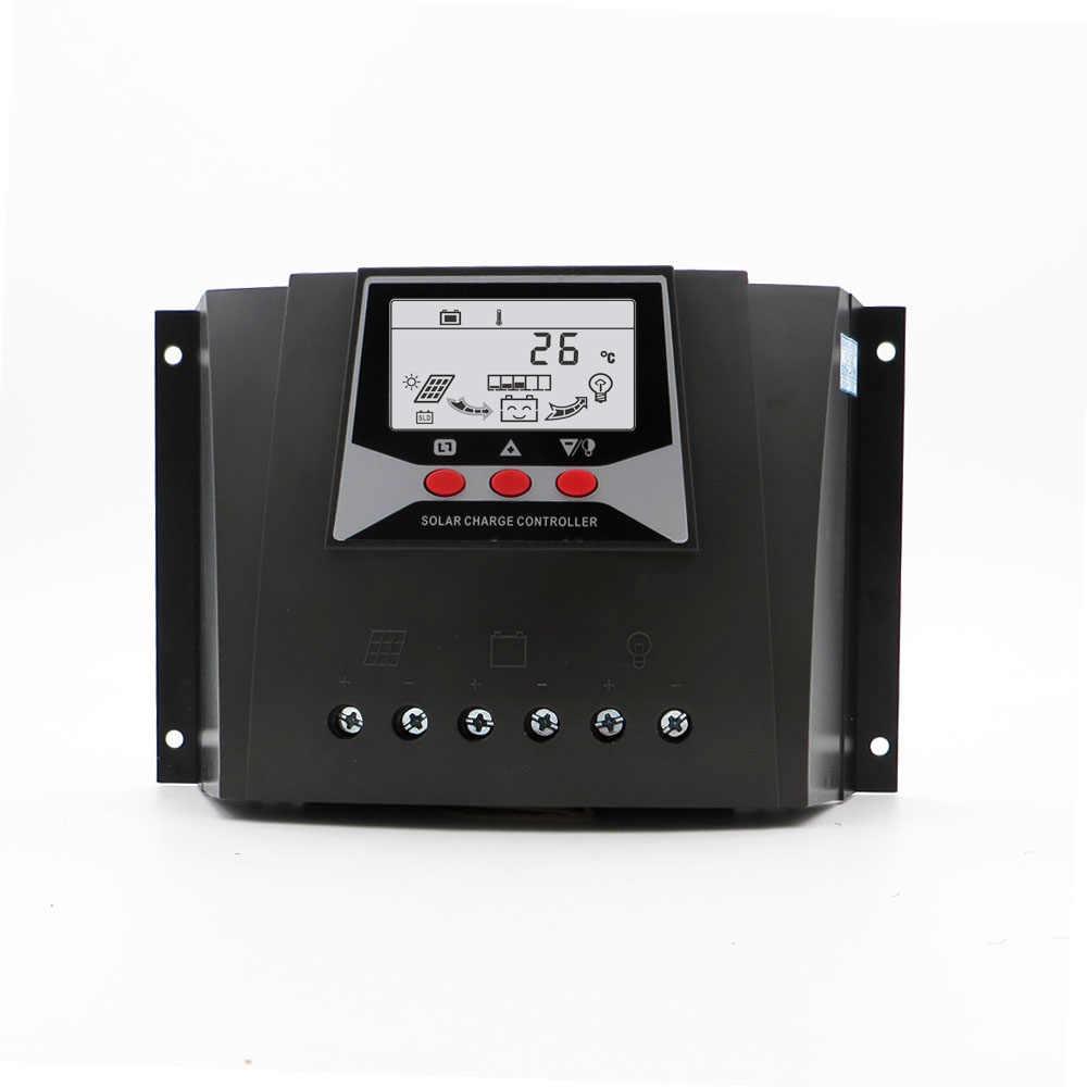 Батарея Напряжение Управление 12 В 24 В 36 В 48 В 50 Ампер Авто Подсветка ШИМ Панели солнечные Зарядное устройство 50A LiFePO4 литиевых Батарея 3,2 В 3,7 В