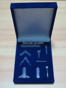Image 1 - Freimaurer Miniatur Arbeits Werkzeuge Samt Geschenk Set Boxed