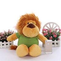 50CM Large Cuddly Lion Stuffed Animals Toys Baby Calm Dolls Children Kids Playing Doll Plush Lions