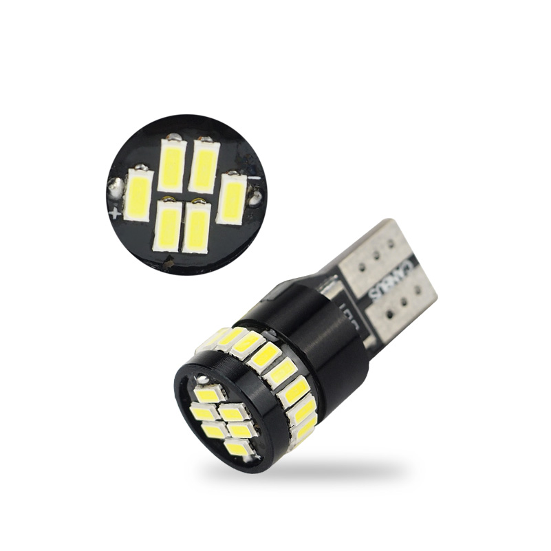 2x Canbus T10 LED W5W 194 168 2825 Car Interior Map Clearance Parking Lights Turn Signal License Plate Trunk Lamp bulb