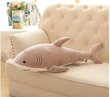 115 cm simulation jouets en peluche requin oreiller bourré de haute qualité poupée cadeau d'anniversaire - 6