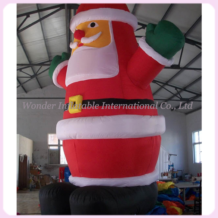 outdoor inflatable christmas decorationgiant inflatable santa claussanta claus inflatable model in party diy decorations from home garden on