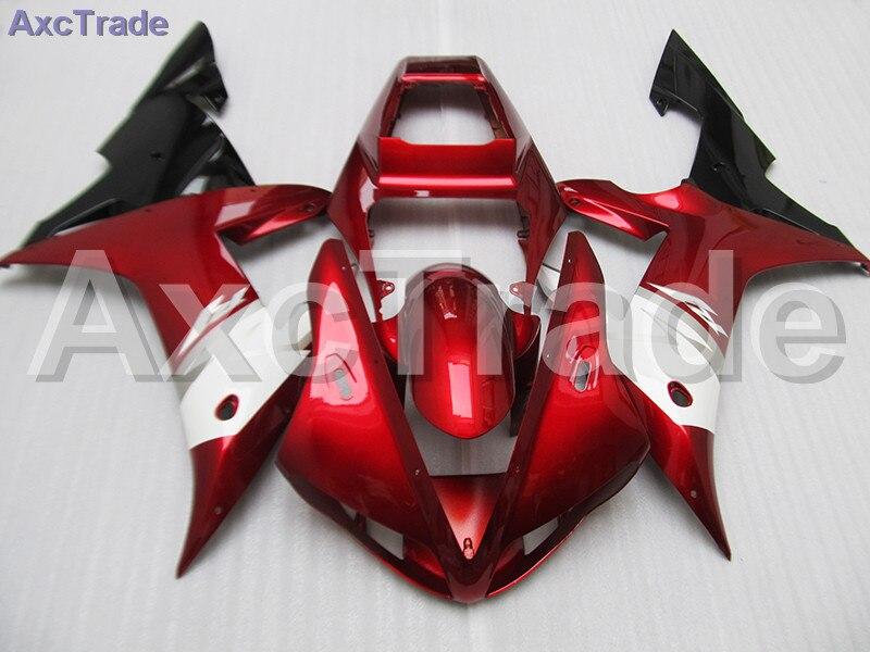 Moto Motorcycle Fairing Kit For Yamaha YZF1000 YZF 1000 R1 YZF-R1 2002 2003 02 03 ABS Plastic Fairings fairing-kit Red White