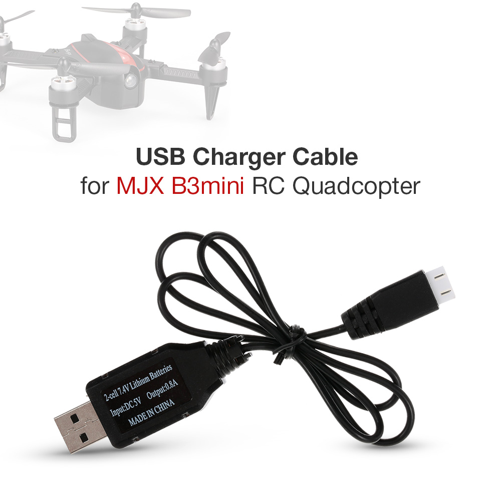 Usb Charger Cable For Mjx B3 Mini Rc Quadcopter Drone