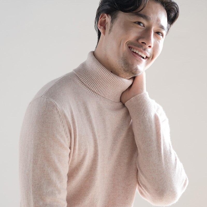 Hot Sale Winter Sweaters Men 100% Cashme