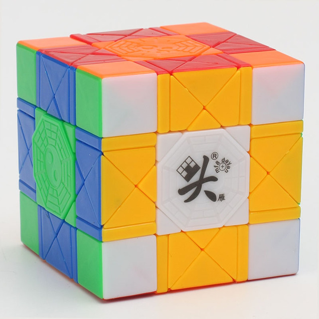 Chegada nova DaYan Bagua Magia Puzzle Cube Velocidade Cube 6 Eixos 8 Rank Profissional Brinquedos Educativos Cubo Torção Transporte da gota