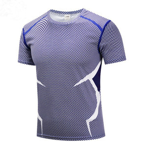 2019 Avengers short sleeve mesh T-shirt for men running fitness quick dry breathable short sleeve T-shirt