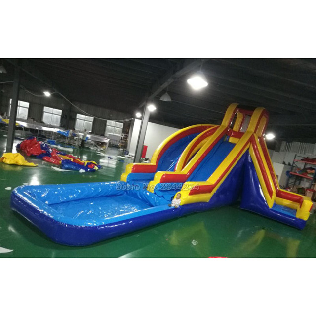 8d8b3d249 Customized Gaint inflatable pool slides water slide / inflatable slide for  pool China factory good price
