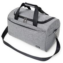 Купить с кэшбэком Nylon WaterProof Hand Travel Bags for Male Simple Casual Sports Gym Fitness Duffle Bag Large Unisex Pink Travel Luggage Handbags