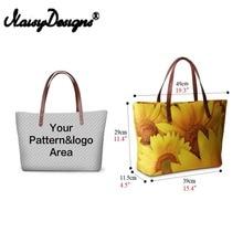 3D Custom Handbags Women Shoulder Bags Famous Brand Woman Cross-body Casual Top-handle Bag Animal Tote Bolsas Drop S