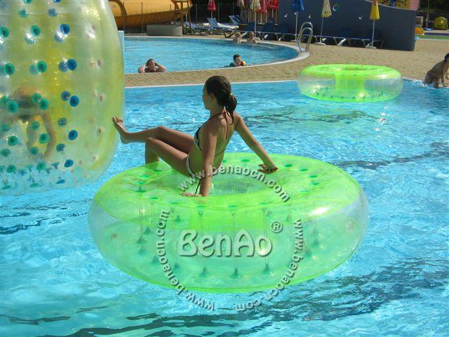 WB006 Frete grátis!!! engraçado jogos de água inflável da água bolas de passeio da água, esfera de rolo inflável, jogos de água de Verão