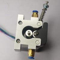 3D printer parts up grade DIY Reprap Kossel all metal 42 stepper motor bowden extruder alimunum alloy for 1.75/3 mm filament
