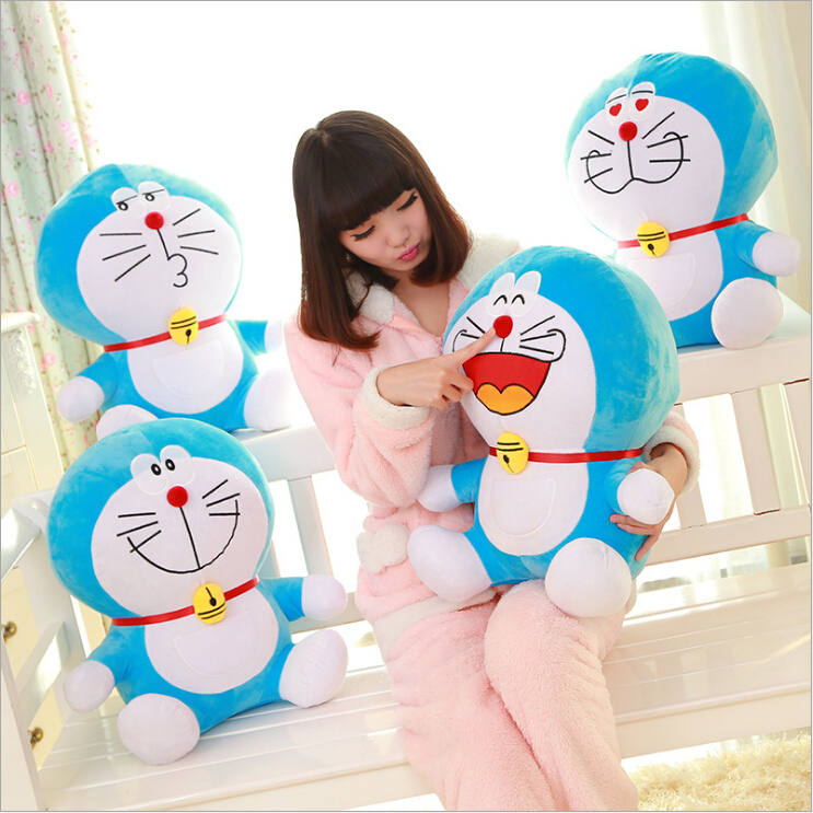 Duo a dream jingle cat Doraemon doll toy doll plush toys For Kids Toys Cartoon Figure Cushion dolls toy brinquedos birthday gift a toy a dream beanie cute boo slick poodle plush toys 6 15cm plush dolls fox