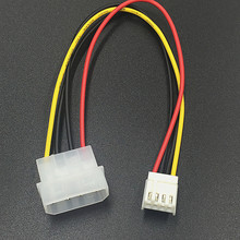 Мужской до 4 P ATA Женский Кабель питания адаптер для гибких дисков Соединительный шнур для PSU Miner для компьютера PC