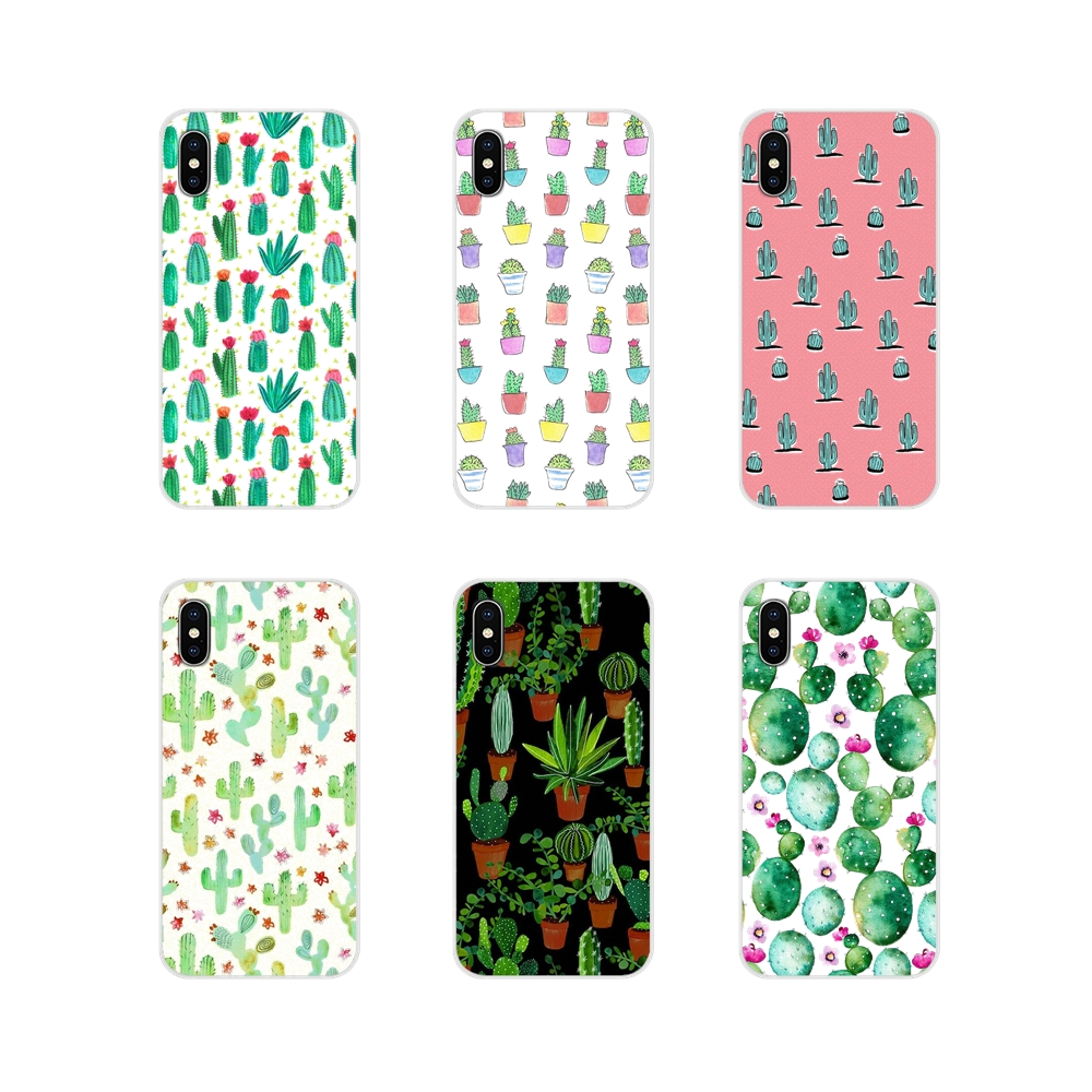 For Samsung Galaxy J1 J2 J3 J4 J5 J6 J7 J8 Plus 2018 Prime 2015 2016 2017 Plant Cactus Accessories Phone Shell Covers