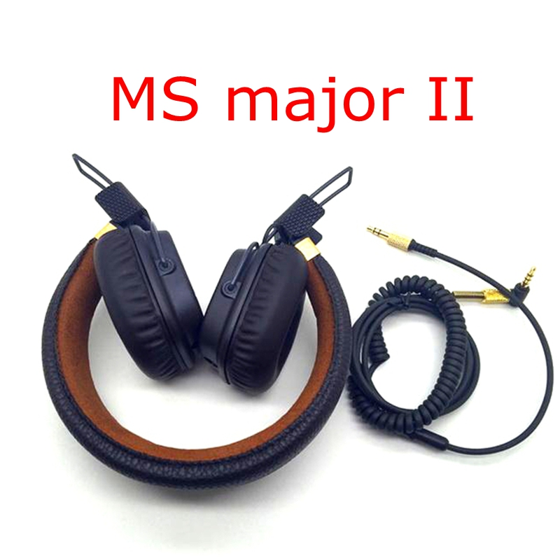 Shipping 48 hours Major II Wired Headphones and wireless 2nd major headsets earphones for marshall wireless Major II headphones наушники marshall major ii 04091167 04090985
