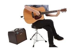 """Image 5 - Chefe WL 20L sistema de guitarra sem fio plug and play sistema de guitarra sem fio com 50 """"faixa de operação e carregamento usb"""