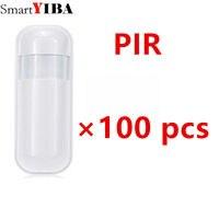 SmartYIBA Лидер продаж 100 шт. 433 МГц EV1527 Беспроводной пассивный инфракрасный датчик PIR Сенсор детектор движения для домашней сигнализации Систем
