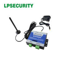 LPSECURITY RTU5024 2G 3G gsm relay sms call remote controller gsm gate opener switch with 3m antenna for parking systems
