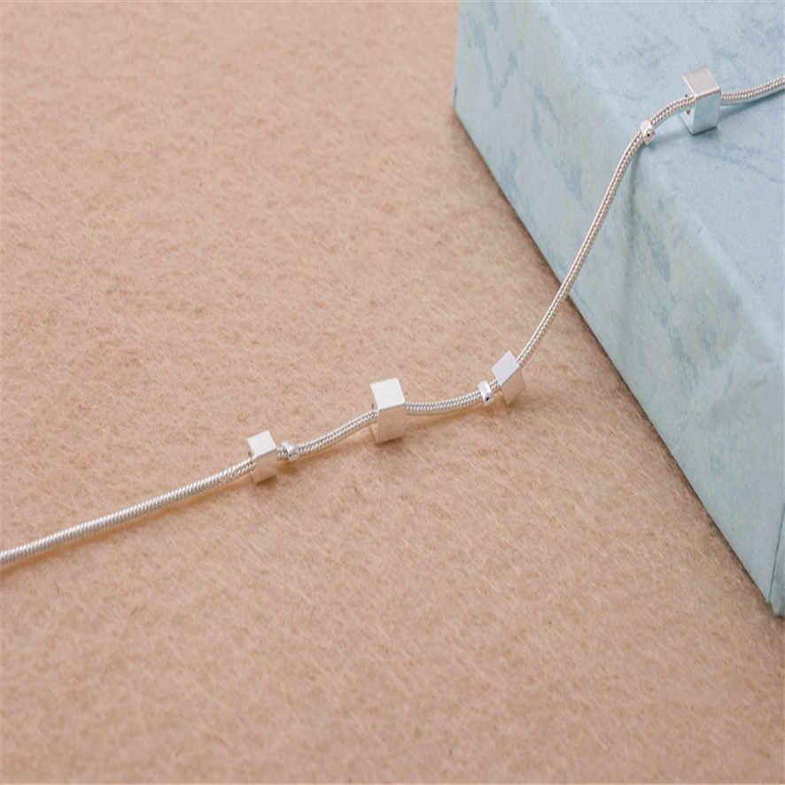 Горячая Лучшая цена маленькая коробка Женский браслет-цепочка на лодыжку Сандалеты пляж бижутерия для ног 0,47
